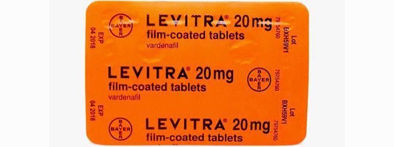 Левитра: основные показания и особенности приёма стимулятора